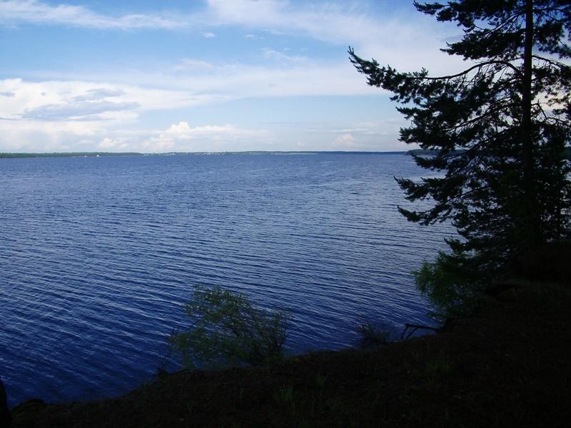 Один из плесов на озере Волго