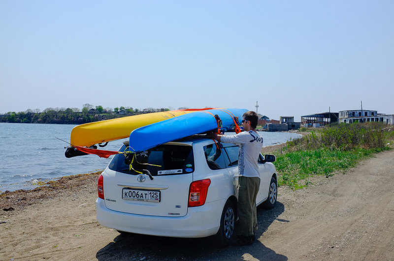 Транспорт до моря, после 200 км до посьета
