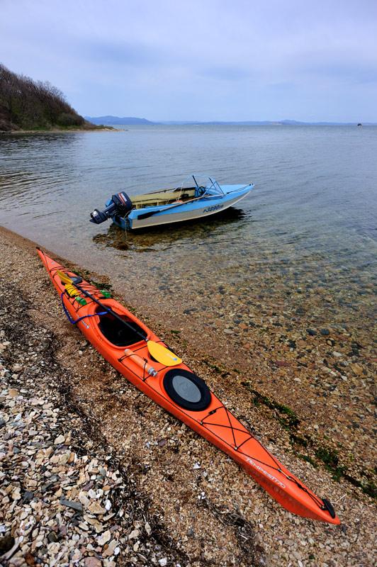 Морской каяк, бухта Воевода и майские выходные