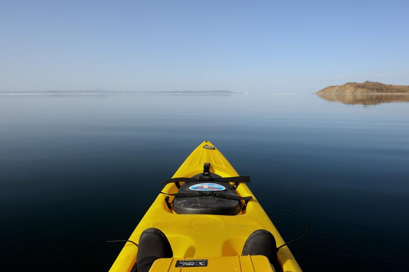 Открытие летнего сезона (морской каяк, Японское море и теплая погода)