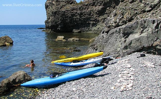 Морской каякинг в Крыму: Балаклава-Фиолент-Казачка