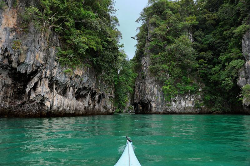 Культурная часть программы — вход в лагуну, куда возят туристов, чтобы на эту самую лагуну посмотреть.