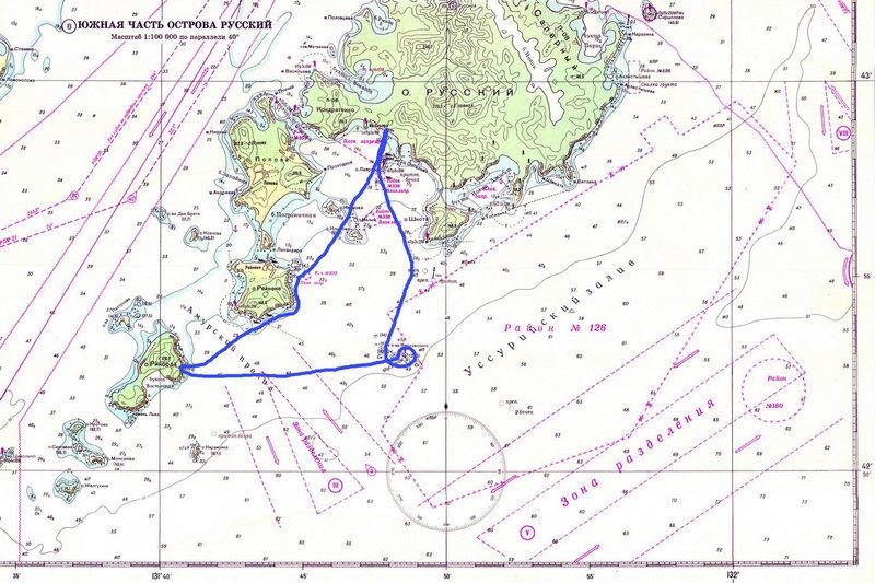 На морских каяках на острова Верховского (2013-2014)