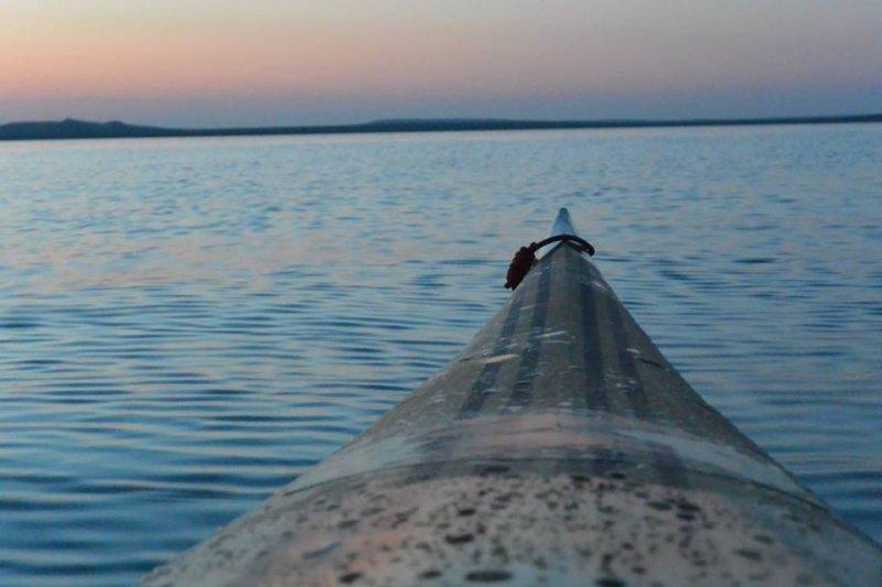 Снимок сделан от скал-Кораблей с видом на Опукский заповедник.