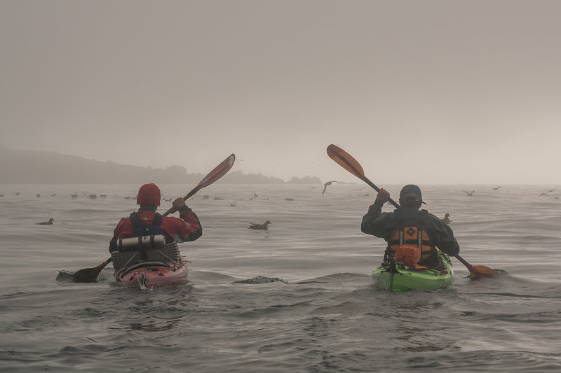 Северные Курильские острова и самые труднодоступные вулканы на морских каяках