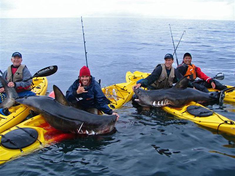 Каяки для рыбаки. Рыбалка с каяка
