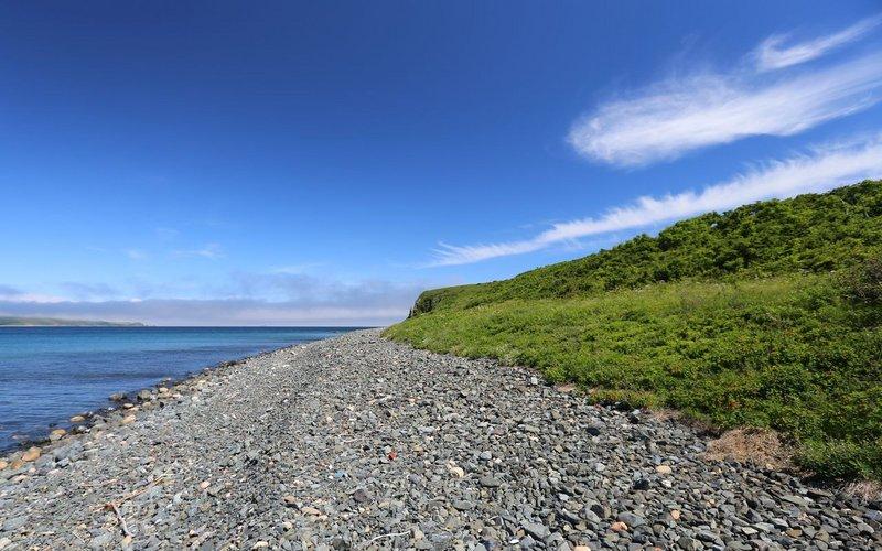 Перешли на островаПахтусова в условиях усиливающегося ветра и уже подходя, осознали, что этоловушка. Ветер засвистел, туман начал клочьями летать. Красота!
