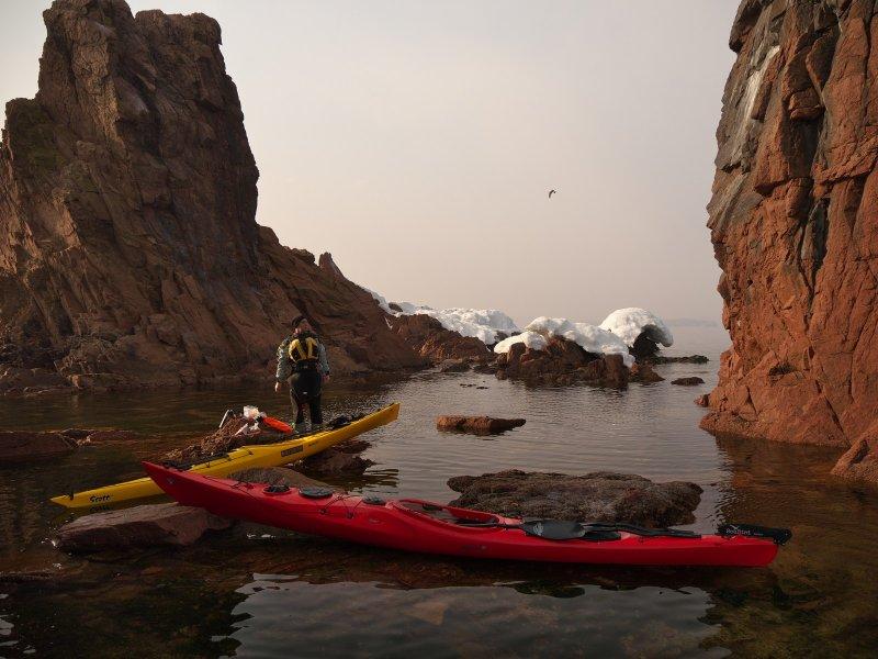Весеннее равноденствие на морском каяке