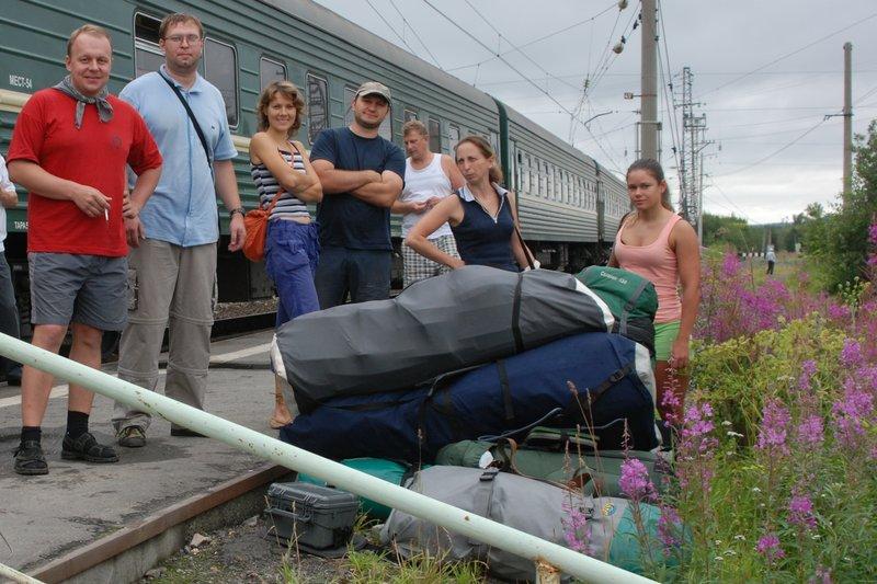 На каяках по реке Умба, Кандалакшский залив Белого моря (часть 1). 25 июля - 5 августа 2011