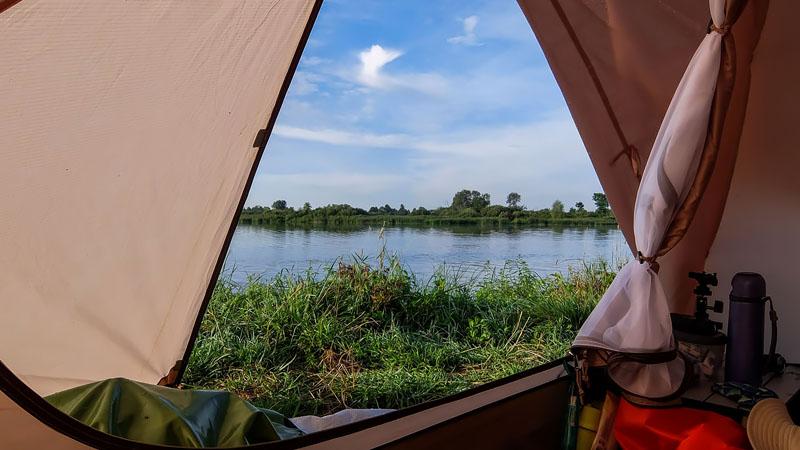 Просыпаемся! Обожаю такие виды из палатки.