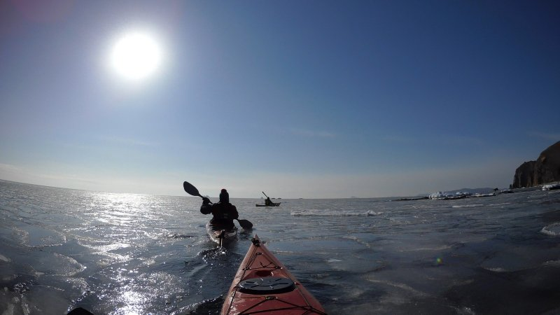 Владивосток. Открытие сезона морского каякинга 2018