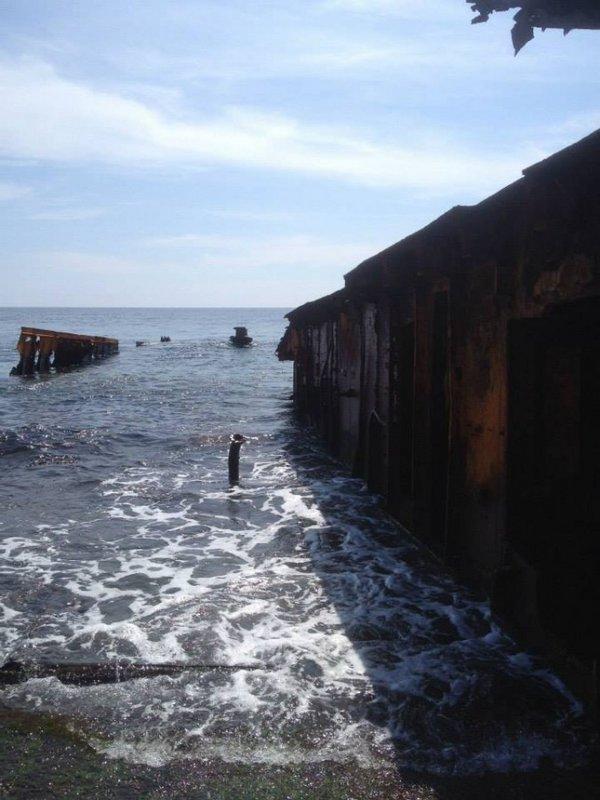 Часть рубки и палубы Ледокола