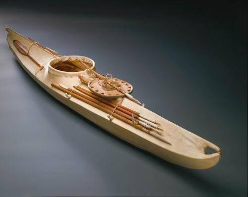 что такое название лодка эскимоса
