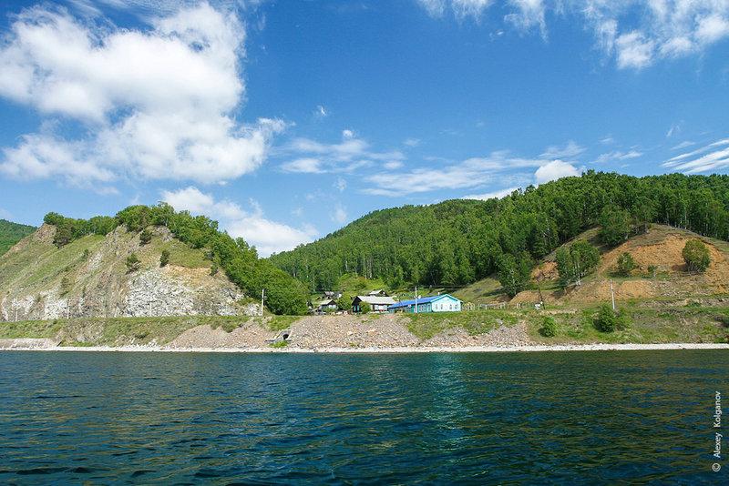 Байкал. Вдоль КБЖД на морском каяке