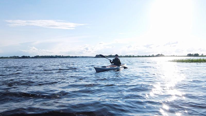 А вот и барыня-Волга.