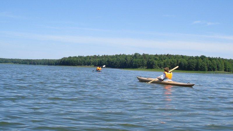 Озеро в Людиново (Калужская область)
