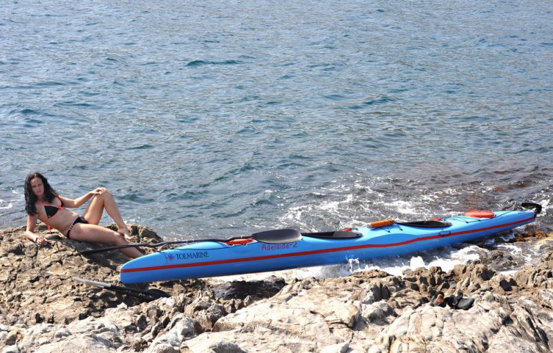 На морской скале недалеко от Партенита
