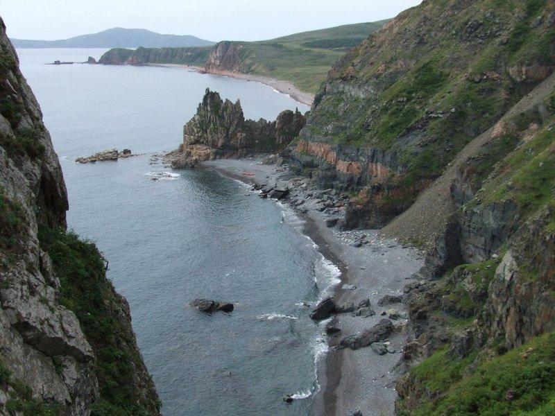 Скалистая бухта на о.Рейнеке. Одно из любимых мест на островах.