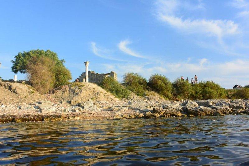 На реечном каяке из Балаклавы в Севастополь, и обратно…