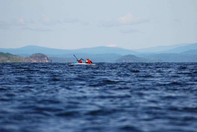 Р.Умба, Кандалакшский залив Белого моря (часть 2). 25 июля - 5 августа 2011.