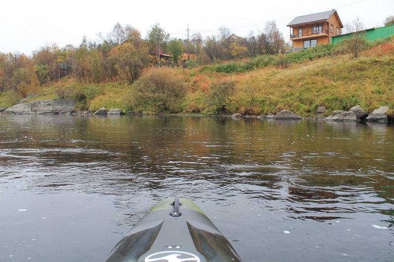 На каяке по реке Кола