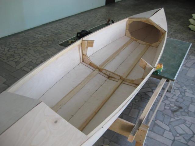 Лодка с фанеры видео