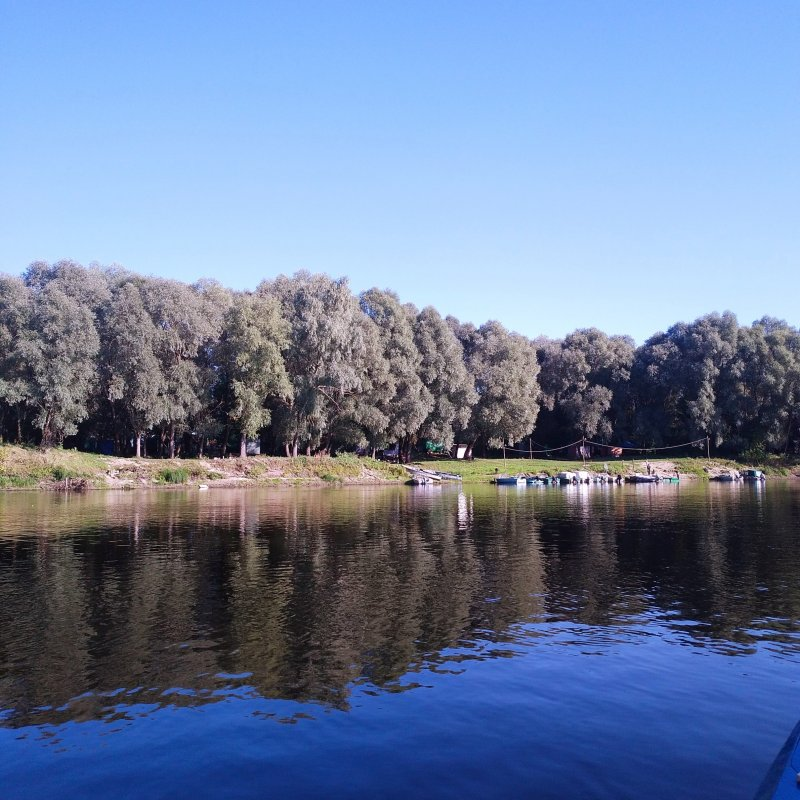 Осенний сплав на каяке по р. Десна