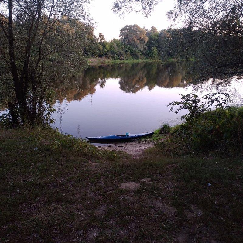 место окончания сплава