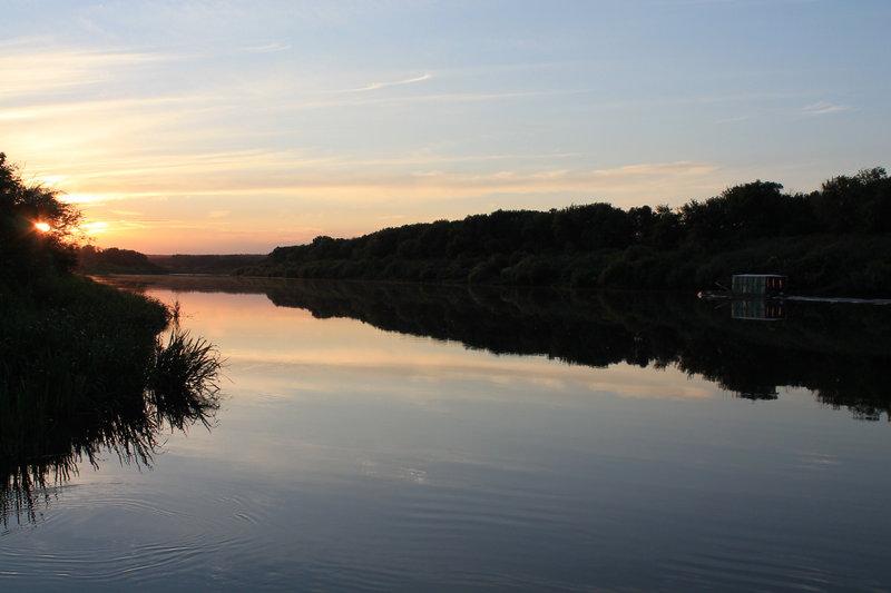 Вечер на реке Дон это что то не передаваемое!
