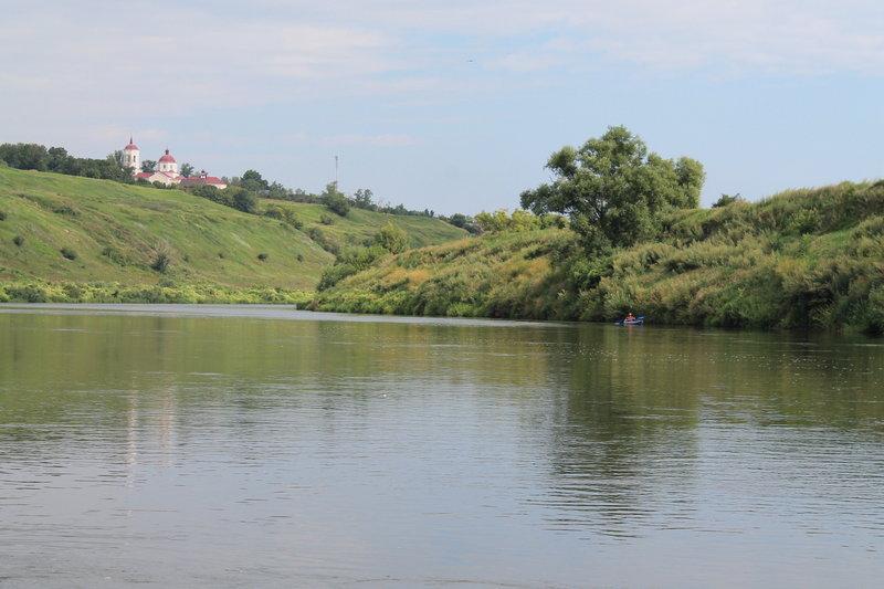 Путешествие по Дону на каяке SEABIRD и байдарке Викинг