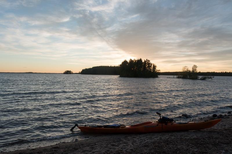 На каяке по озеру Сайма Финляндия. 19.07.2016-27.07.2016