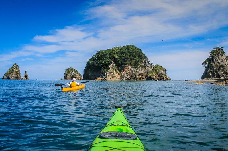 Рекреационный поход на морских каяках в Дальневосточный государственный морской заповедник