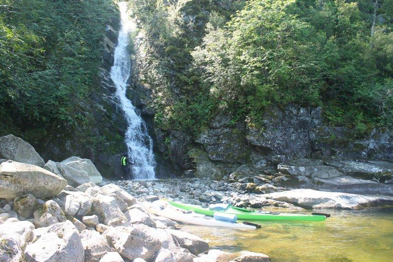 Ещё один водопад...