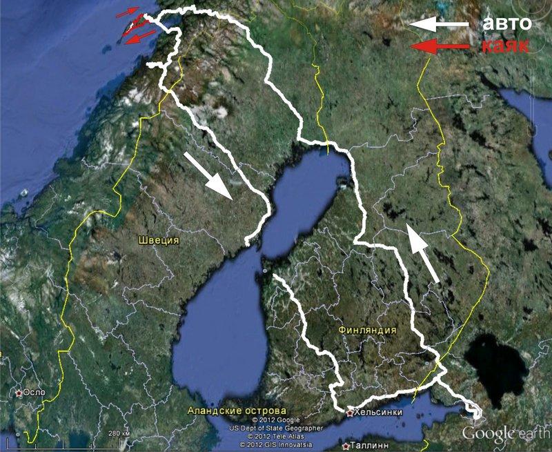 Норвежское море, вокруг Лофотенских островов. 22 июня – 5 июля 2012. Часть 1.