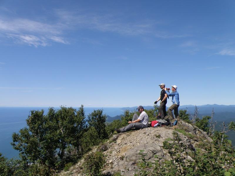 На вершине горы Китоуси