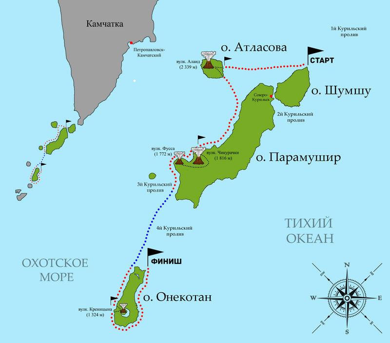 Курильский Трип 2015. Анонс экспедиции на морских каяках