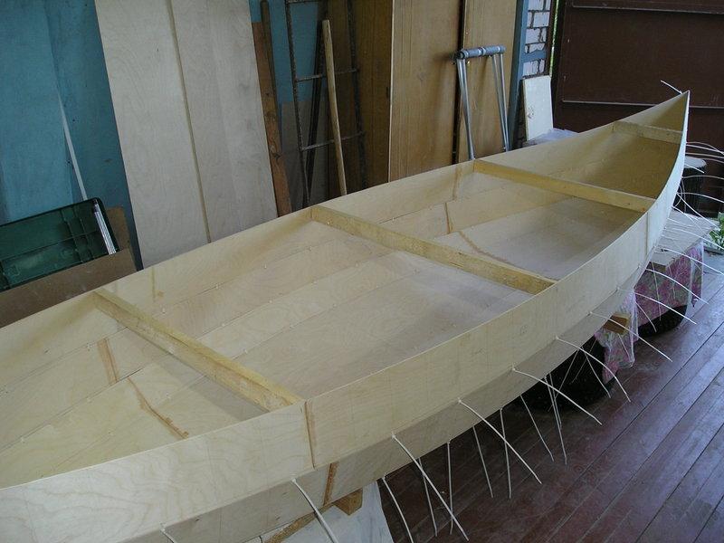 Эпоксидную лодку своими руками 248