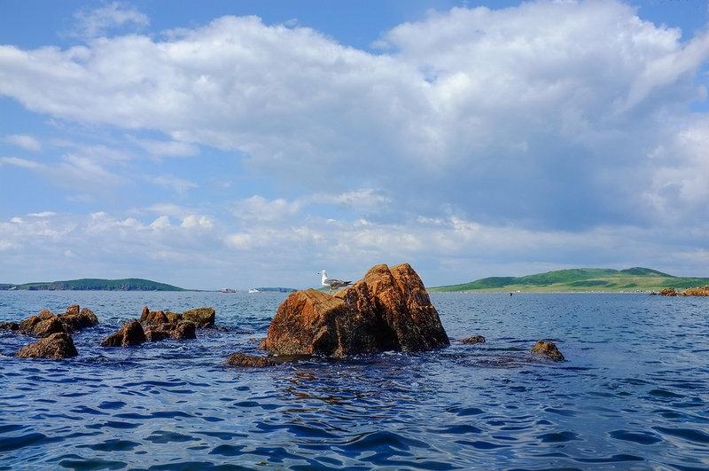 От Русского до Желтухина на морских каяках