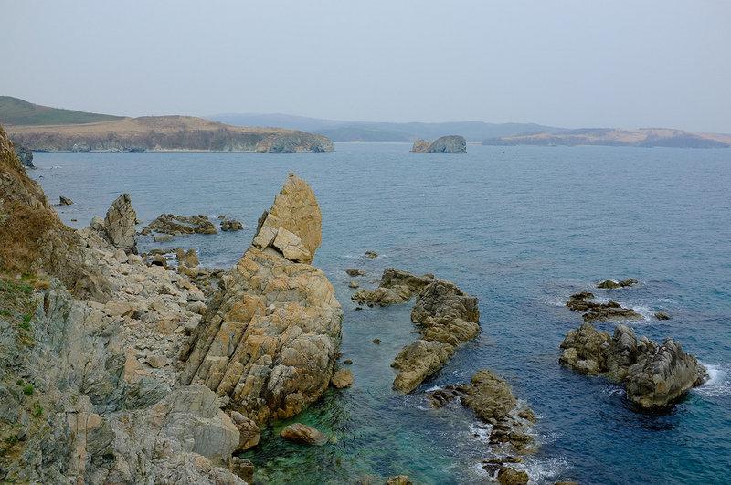 Первомайская прогулка Посьет - Зарубино на морских каяках