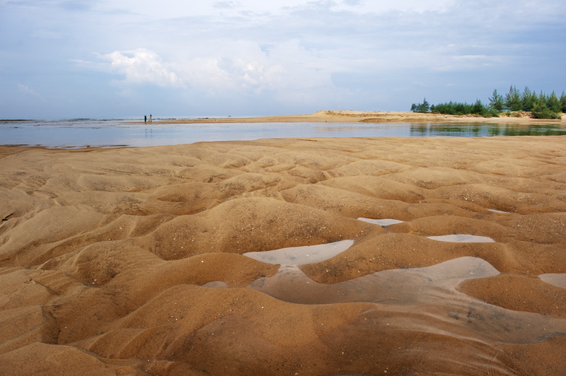 Различные песчаные безобразия.