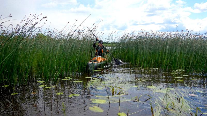 Тернист бывает путь озерного каякера.