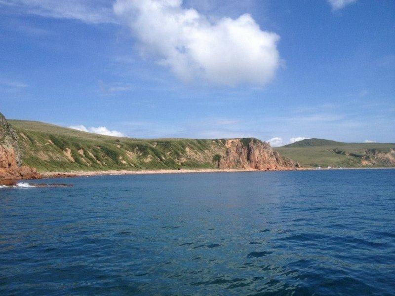 Остров Рейнеке, куда я так и не попала, хотя обошла остров почти вкруг