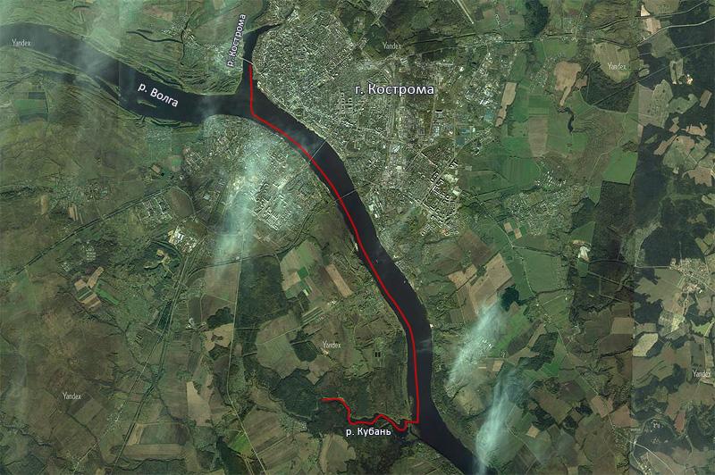 Устье Кубани находится в 15 км от нашего места старта. Около 4 км по самой Кубани, ночёвка, и затем назад тем же маршрутом. Итого, около 40 км за 2 дня. Немного, конечно, но нам понравилось.