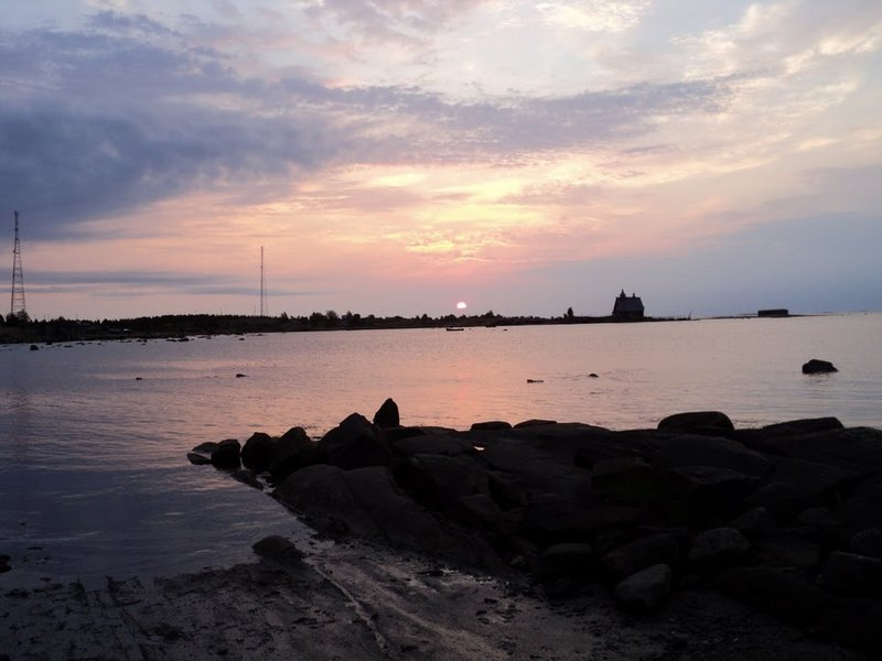 Кемь - Нёнокса через Соловецкие о-ва, Белое море