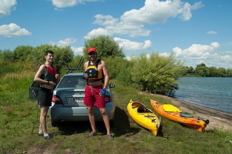 Мои друзья. Слева Раушан Кунгуров, справа Дмитрий Фомин.