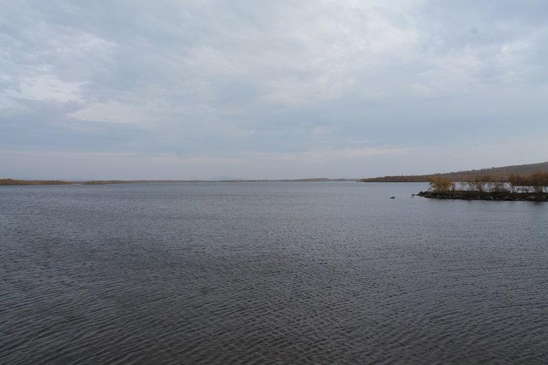 Прогулку начал с озера Молльявр.