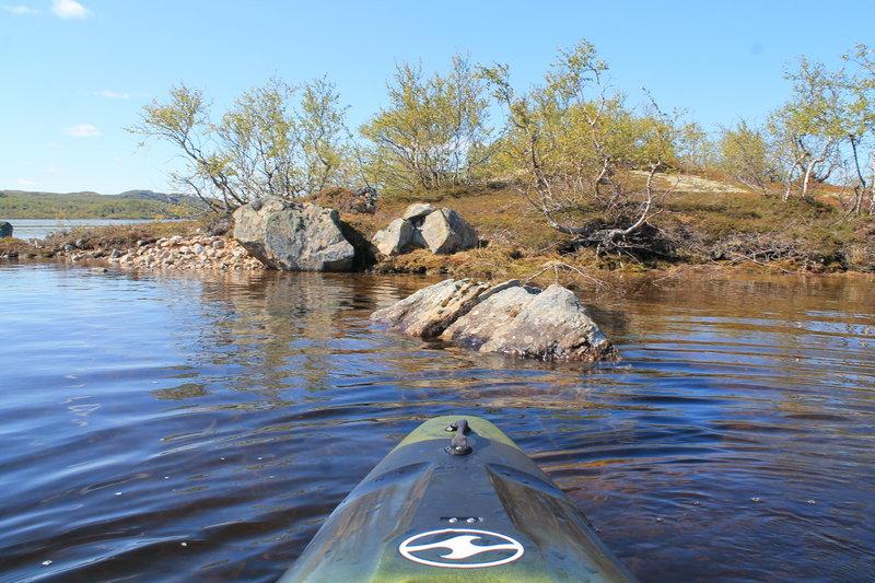 На каяке по озеру Налъявр