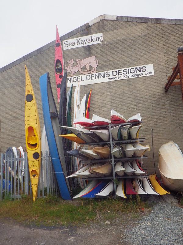 Фабрика Sea Kayaking UK и Lendal. Крупнейший производитель фибергласовых лодок в Великобритании.
