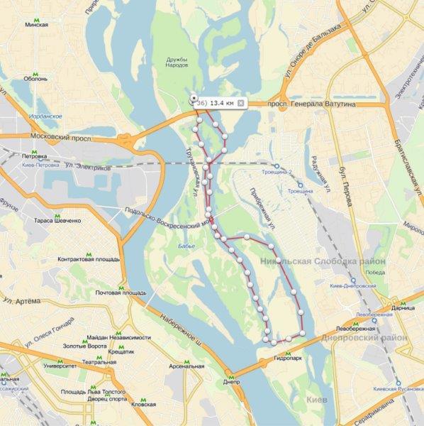 И карта второго участка