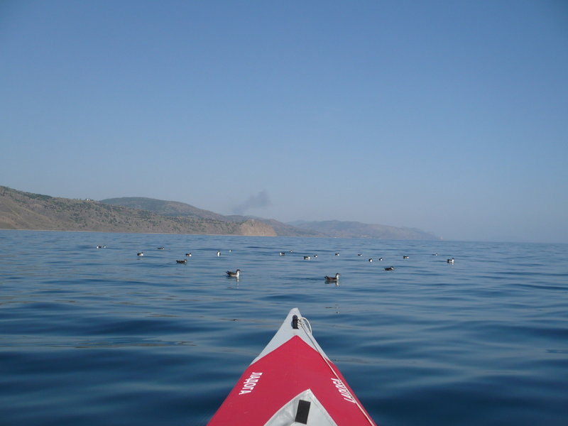 Черное море. Прогулка от Алушты до Коктебеля. Май 2012 г. 108 км.